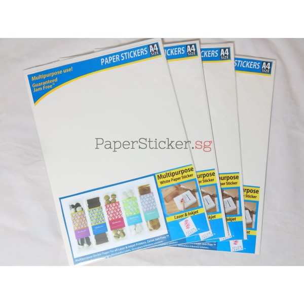 Standard gloss paper sticker 12 sheets